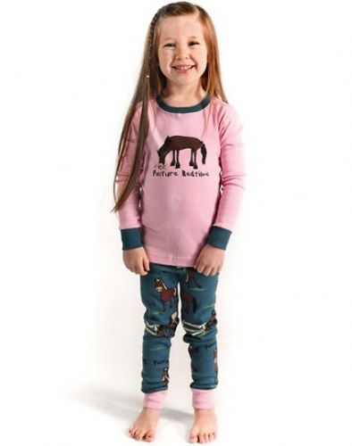 LazyOne Girl's 'Pasture Bedtime' PJ Set